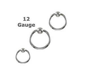 Single-Heavy-12g-Gauge-Captive-Ring-1-2-034-12mm-Ear-Lip-Nose-Eyebrow-Piercing