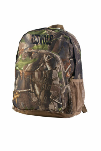 RedWolf RealTree Mossy Oak Camo Day Back Pack Hunting Camping School Hiking 3F-E