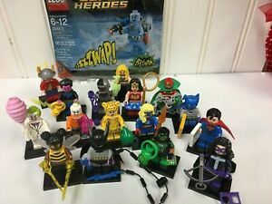 LEGO-CMF-71026-DC-Super-Heroes-Series-Minifigures-Complete-Set-of-16-MR-FREEZE