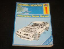 General Motors J-Cars Automotive Repair Manual: 1982 Through 1994 Haynes Repair