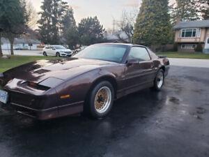 1988 Pontiac Trans Am GTA WS6