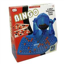 BINGO Lotto Lottery Numbers Family Fun Picker Picking Game 90 Balls and cards