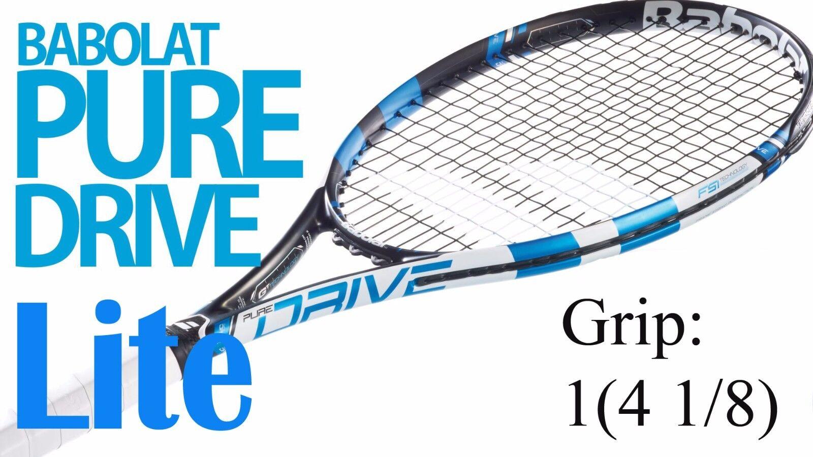 Babolat Pure Unidad Lite Tenis Raqueta Agarre 1 (4 1 8) sin encordar nueva Envío Gratis