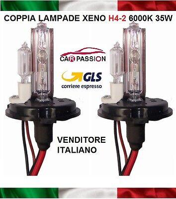 Coppia lampade bulbi kit XENO xenon H1 55w 4300k 12v lampadina luce HID ricambio fari