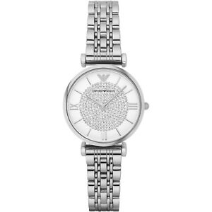EMPORIO-ARMANI-White-Crystal-Pave-Dial-Stainless-Steel-Ladies-Watch-AR1925