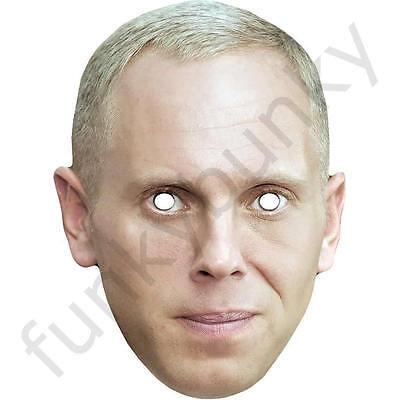 All Our Masks Pre-Cut Chris Packham TV Celebrity Springwatch Card Face Mask