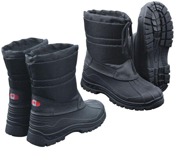 Capaz Canadian Snow Boots Ii Botas De Invierno Botas De Nieve Negro Thermo Botas De Invierno-ver CáLculo Cuidadoso Y Presupuesto Estricto