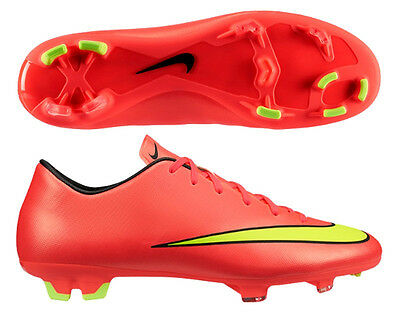aventuras Incompatible Conectado  Nike Mercurial Victory IV FG World Cup WC Edt 2014 Soccer Shoes New New  Crimson   eBay