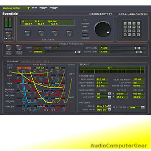Details about Eventide H3000 FACTORY NATIVE Ultra-Harmonizer Audio Software  Plug-in NEW