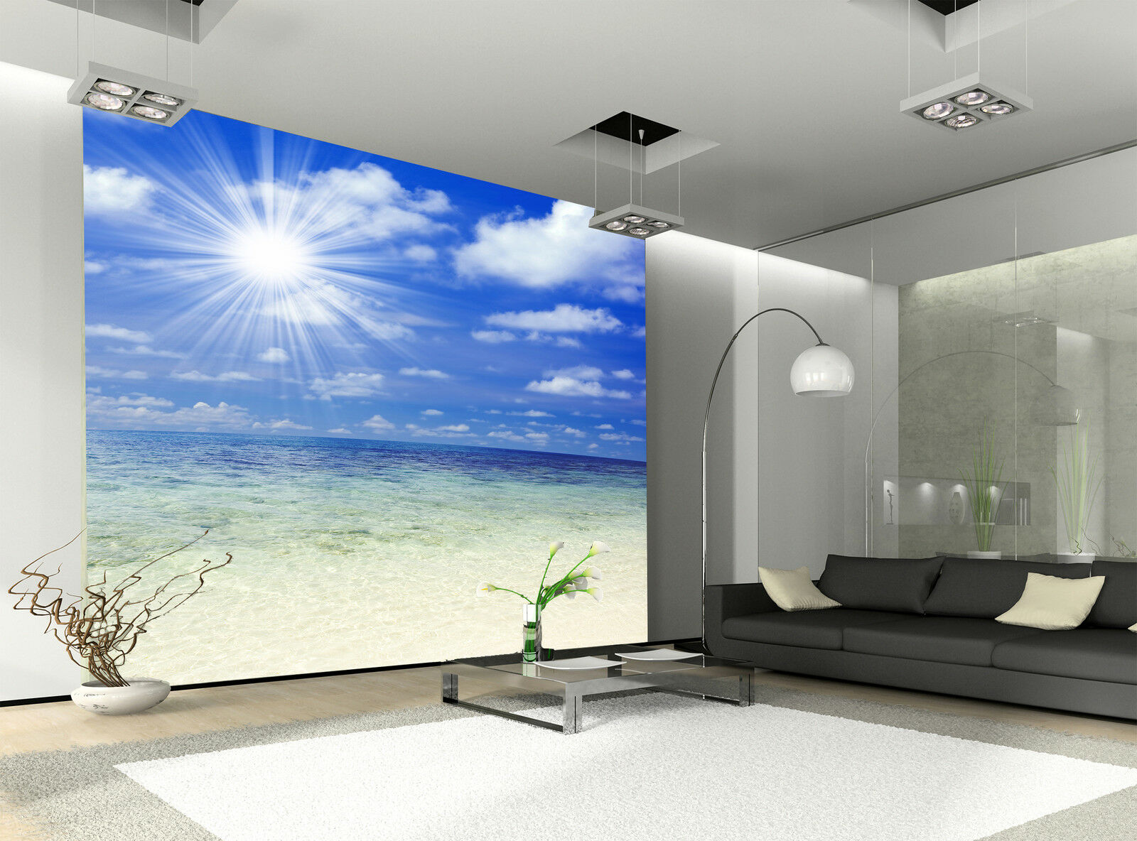 Beach  Wall Mural Photo Wallpaper GIANT DECOR Paper Poster Free Paste
