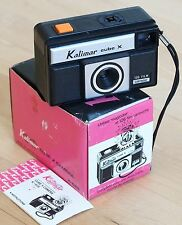 Kalimar Cube X K-626 126 film cartridge camera in original package