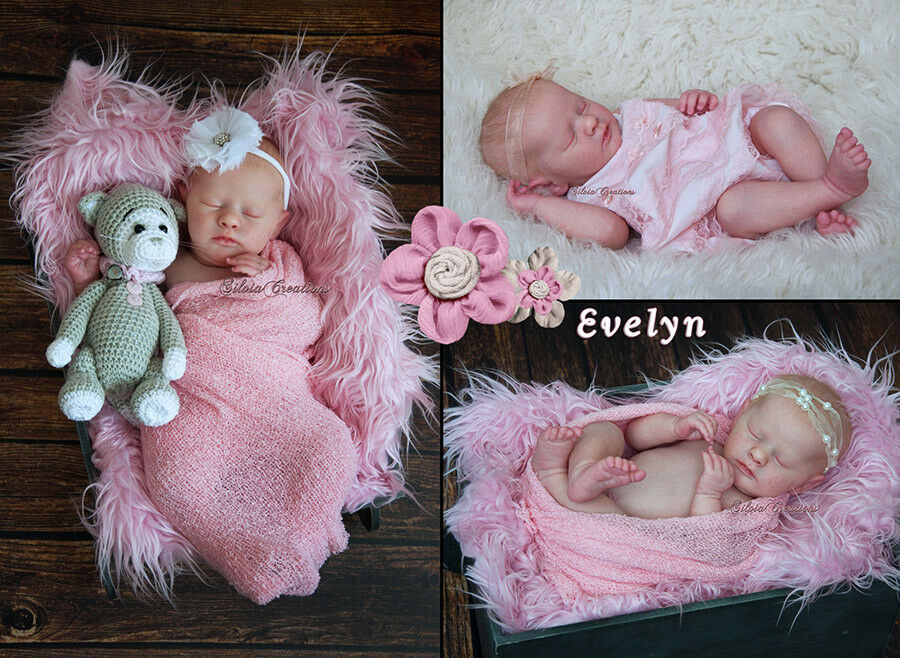 ️ Custom Made Reborn Doll from EVELYN Realborn kit 8-10 weeks