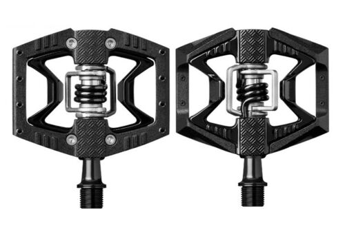 Crank Brothers Double Shot 3 Clipless /& Platform Bike Pedals Black or Red Bros