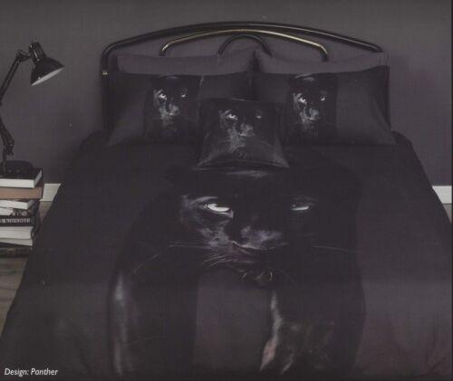 Black Panther Duvet DoonaQuilt Cover Set by GeorgesAnimal PrintBig Cats