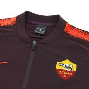 best service cheap official supplier Détails sur Nike comme Roma 18/19 NSW Authentique Survêtement Piste Veste  Gilet Giacca Moyen