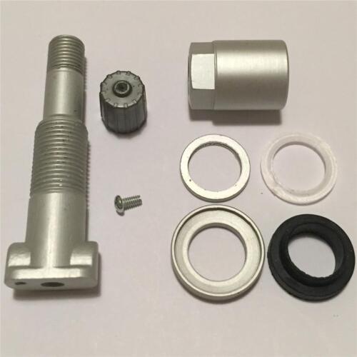 X4 JAGUAR Xf Pressione Pneumatici Kit Riparazione Valvola Sensore TPMS ** 1 anni di garanzia **