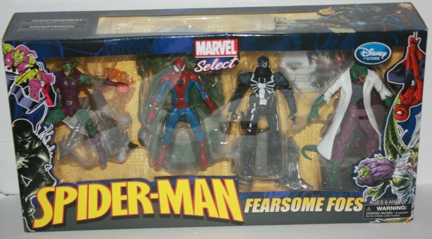 Marvel selezionare SPIDERuomo temibili nemici di flash Thompson Venom Lizard verde Goblin