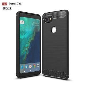 los angeles 3fe7d 07f14 Details about Slim Light-weight Carbon Fiber + TPU Case for Google Pixel XL  2 3s Easy Peel
