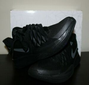 dcd7bd1669319 Nike Mens Kyrie Low Triple Black Basketball Shoes Size 11.5 AO8979 ...