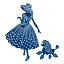 Nouveau Tattered Lace sorti pour une promenade Emma /& Perdita lady chien coupe meurt ETL320