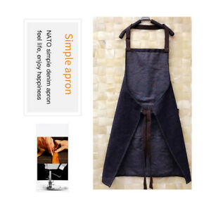 Denim-Apron-Unisex-Denim-Apron-Adjustable-Kitchen-Barbecue-Straps-Grill-Apron-S8