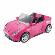 Barbie Autre Glam Convertible Sports Toy Vehicle for Doll, Pink Car