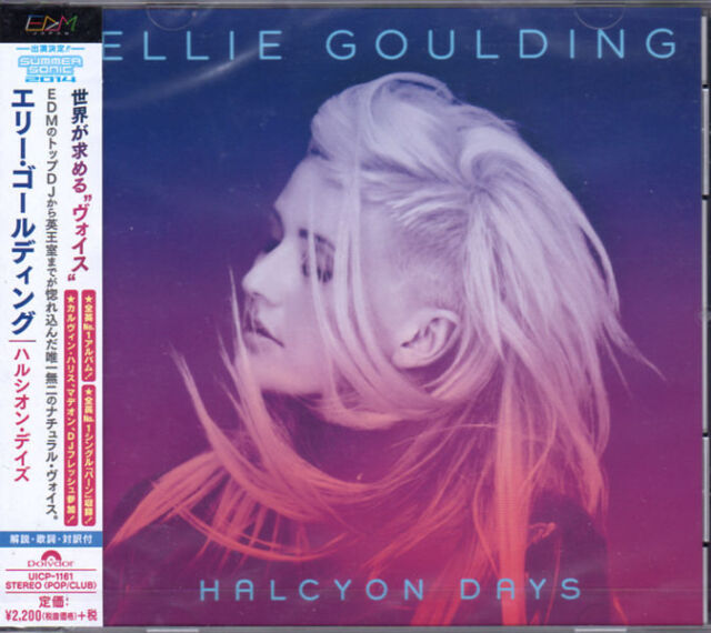 ELLIE GOULDING -HALCYON DAYS-JAPAN CD BONUS TRACK E78