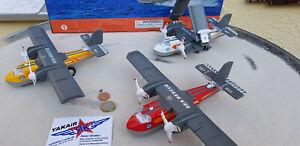 1x-Canadair-CL-415-Rescue-Enfants-Metal-modele-ronds-AIRCRAFT-yakair