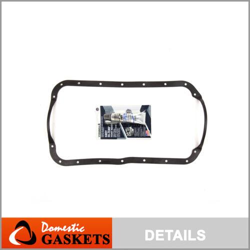 Oil Pan Gasket Fits 84-87 Nissan 3.0L VG30 VG30E VG30I VG30T
