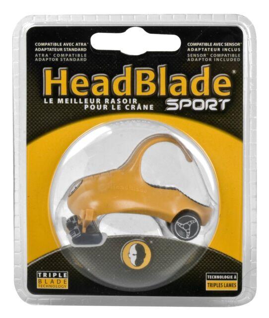 Headblade SPORT Razor Scalp Shaver Bald Head Blade Shaving Mini with Wheels