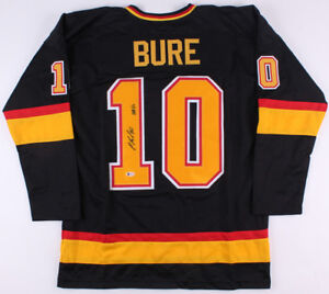 buy popular 0ad8f fb22a Details about Pavel Bure Signed Vancouver Canucks Jersey Inscribed