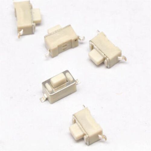 100PCS 3×6×5mm Tact Tactile Push Button Switch SMD-2Pin