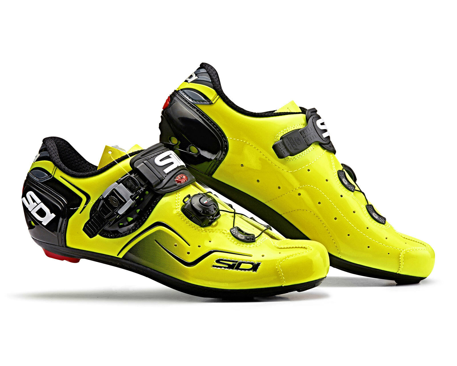 SIDI KAOS Road Cycling Shoes - Yellow Fluo
