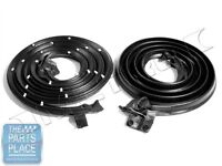 1965-66 Gm B Body Door Weatherstrip Seals Pair - Lm20