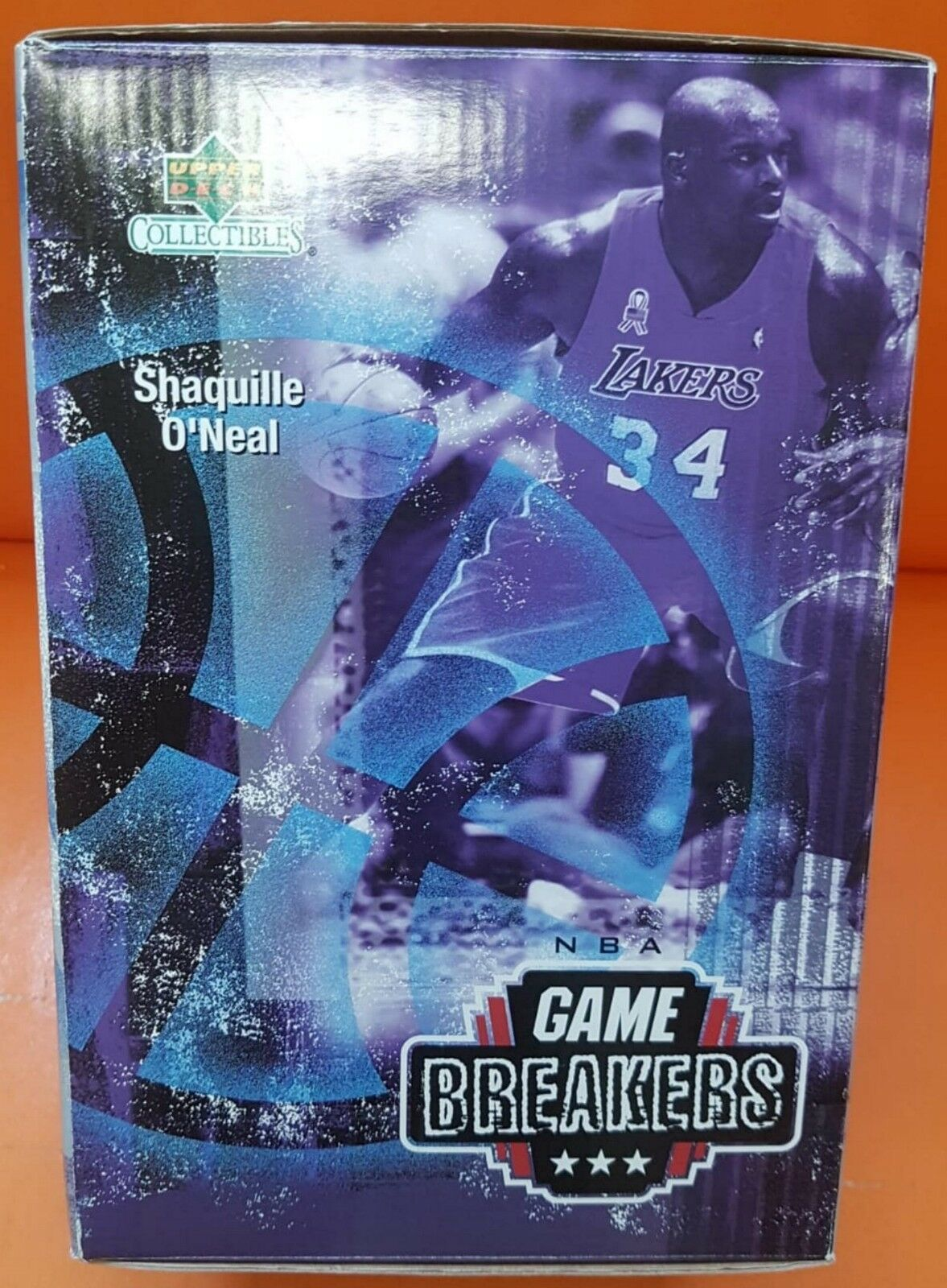 NBA GAME BREAKERS SHAQUILLE O'NEAL PREMIERE EDITION FIGURE