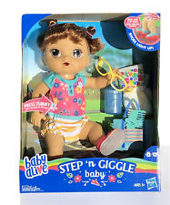 Sounds /& Phrases ~Light Up Shoes~BRAND NEW! BABY ALIVE~Step /'n Giggle~Baby 25