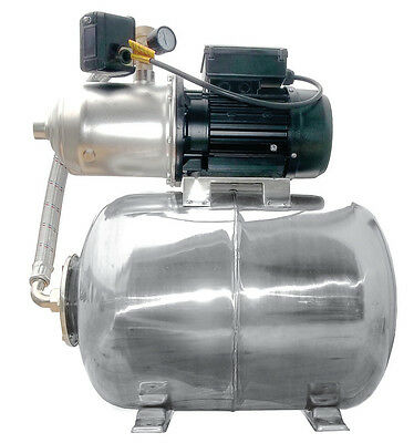 """IBO 1/""""HP1500 1.5kW INOX electric multistage centrifugal booster water PUMP pond"""
