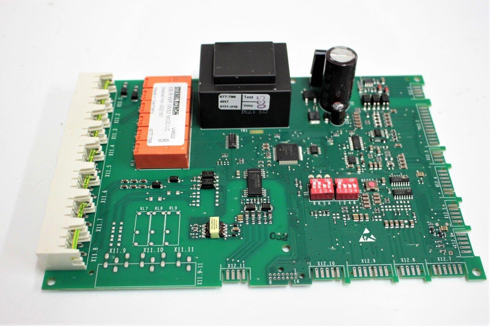 STIEBEL ELTRON ELTRON ELTRON Platine EB R WP IWS3 MOD.LC Nr. 322181 / 677-799 / 4017 0151/210 1d621d