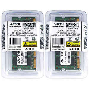 2GB-KIT-2-x-1GB-HP-Compaq-Business-nc6220-nc6230-nc6400-nc8200-CTO-Ram-Memory