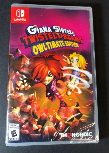 Giana Sisters Twisted Dreams [ Owltimate Edition ] (Nintendo Switch) NEW