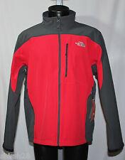 The North Face Mens Apex Bionic Jacket - TNF Red Asphalt Gray - Medium - NWT
