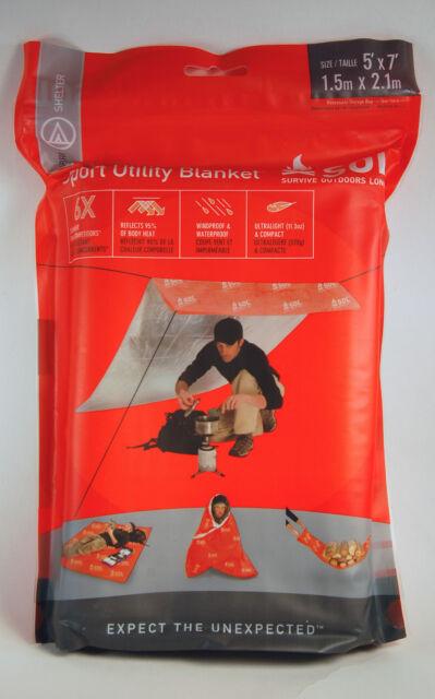 Adventure Medical Kits SOL Sport Utility Survival Blanket 0140-1224