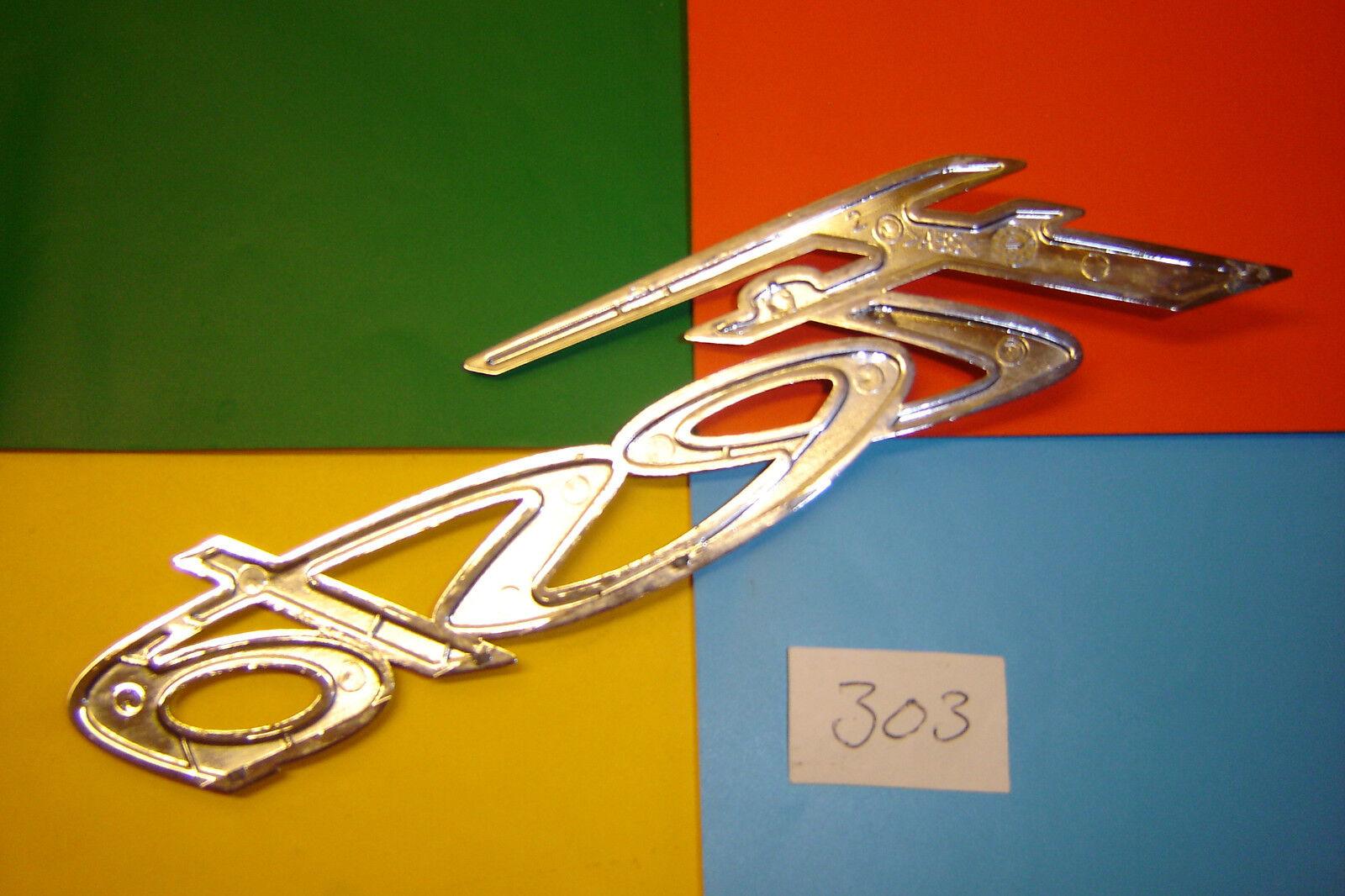 NEUF origine FORD Fiesta 2008-2017 Coffre Arrière Chrome Fiesta inscription badge