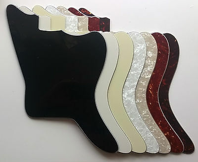 Jazzmaster Japan Blank Pickguard for MiJ CiJ spec: various colours 3 & 4 ply