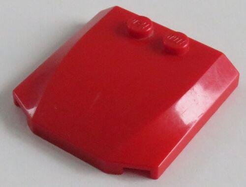 3-fach geneigt LEGO Ecke / Wedge 4 x 4 x 2/3 Dach rot # 45677 2 Stück