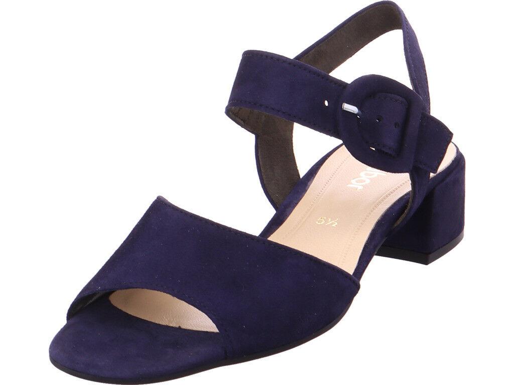 Gabor Damen  Sandalee Sandaleette blau