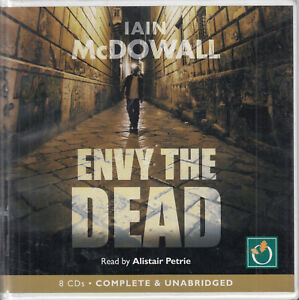 Envy-The-Dead-Iain-McDowall-8CD-Audio-Book-Unabridged-Jacobson-amp-Kerr-6-Thriller