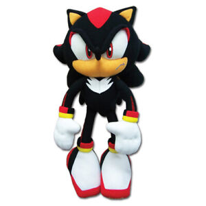 Real New Sonic The Hedgehog Ge 8967 12 Shadow Stuffed Plush Doll Toy 699858989676 Ebay