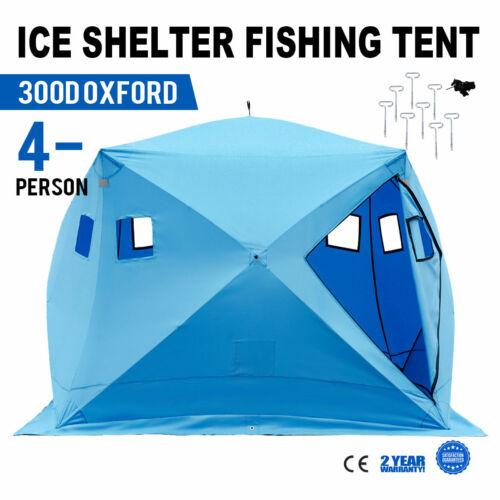 4 Mann Angelzelt Zelt Dome Tent Zubehör Angelsport Tragbar Quick Shelter