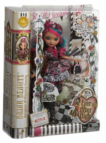 Ever After High Briar Beauty Daughter of Sleeping Beauty Doll Brand New in Box